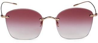 Oliver Peoples 58MM Aviator Sunglasses
