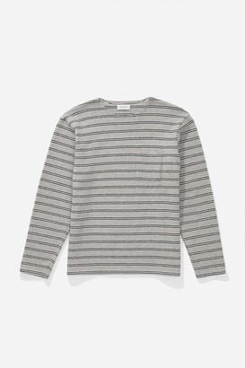 Saturdays NYC Mason Stripe Long Sleeve Shirt