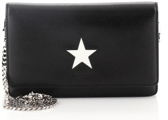 Givenchy Pandora Chain Wallet Embellished Leather
