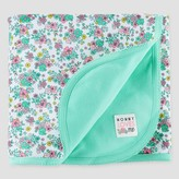 Just One You Baby Girls' Floral Interlock Blanket Cool Mint - Just One You Made by Carter's®