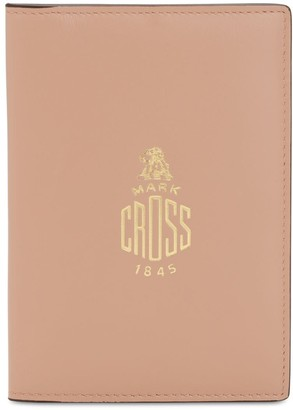 Mark Cross Smooth Leather Passport Holder