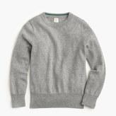J.Crew Boys' cotton-cashmere crewneck sweater