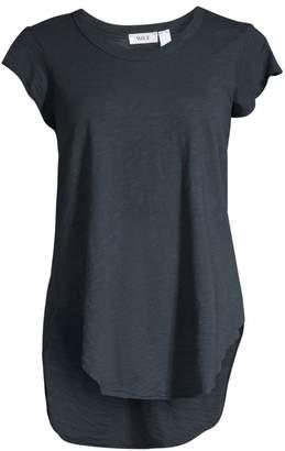 Wilt Round Neck Shirttail Top