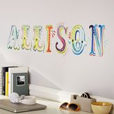 PBteen Watercolor Letters Decal