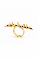 House Of Harlow Spike & Cone Ring in Yellow Gold