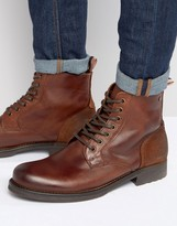 Jack and Jones Sting Leather Boots