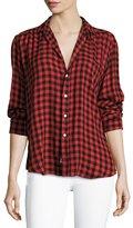 Frank And Eileen Eileen Button-Front Long-Sleeve Plaid Shirt