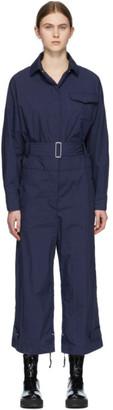 MONCLER GENIUS 2 Moncler 1952 Navy Belt Jumpsuit
