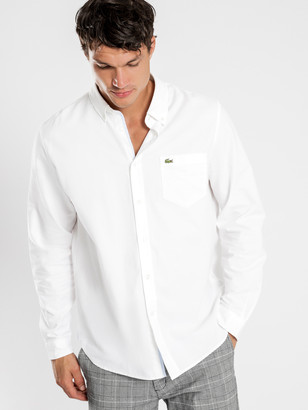 Lacoste Oxford Shirt in White
