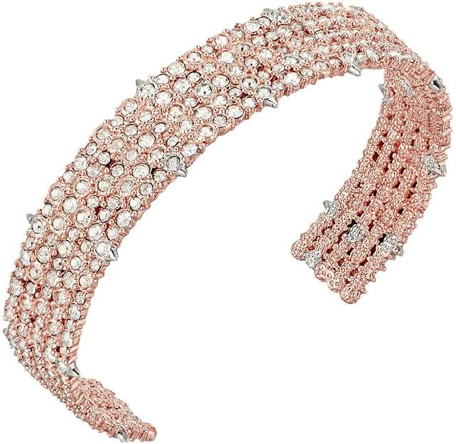 Alexis Bittar Crystal Lace Cuff Bracelet Bracelet