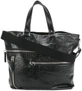 Valentino multi zip shoulder bag - men - Leather - One Size