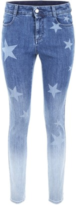 Stella McCartney Gradient Skinny Jeans