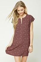 Forever 21 Kaleidoscope Print Shift Dress