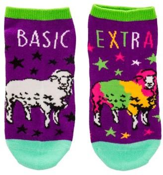Wit Ankle Socks, Sheep