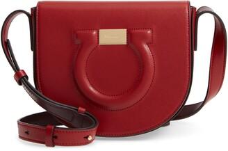 Salvatore Ferragamo Gancio City Leather Crossbody Bag