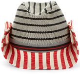 Sonia Rykiel Multi Striped Cotton Hat