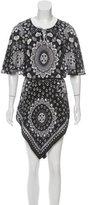 Robert Graham Belted Silk Dress w/ Tags