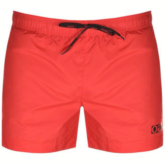 HUGO BOSS Haiti Swim Shorts Red