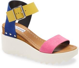 Steve Madden Keir Platform Wedge Sandal