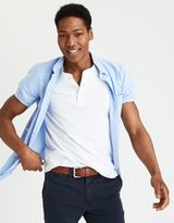 American Eagle Outfitters AE Short Sleeve Oxford Shirt