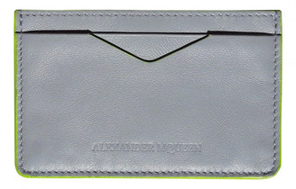 Alexander McQueen Grey Leather Small bags, wallets & cases