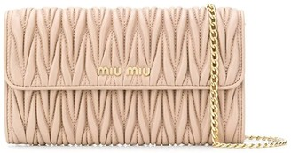 Miu Miu Wallet With Shoulder