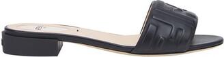 Fendi Leather Slides
