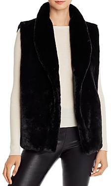 Echo Faux Fur Collared Vest