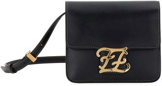 Fendi Karligraphy King Calf Shoulder Bag