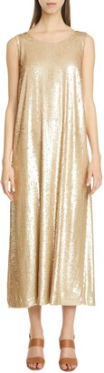 Lafayette 148 New York Ross Spectrum Sequin Midi Dress