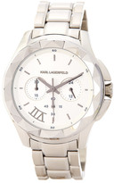 Karl Lagerfeld Men&s Seven Chronograph Bracelet Watch