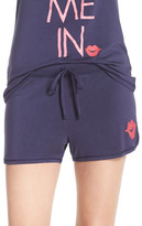 Junk Food Clothing &Tuck Me In& Jersey Lounge Shorts