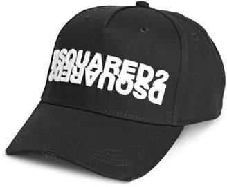 DSQUARED2 Embroidered Cotton Baseball Cap