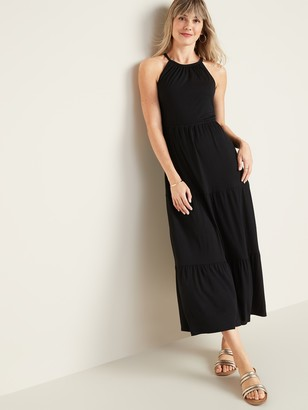 Old Navy Sleeveless Waist-Defined Maxi Dress for Women
