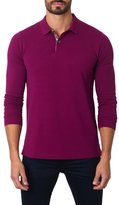 Jared Lang Knit Cotton Polo