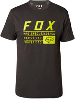 Fox Men's Abyssmal Premium Logo-Print T-Shirt