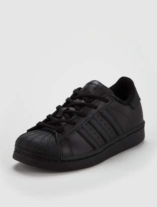 adidas Superstar Childrens Trainer - Black
