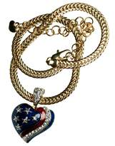 Stars & Stripes Products US Flag Heart of Patriot Neckslide/Pendant with Chain