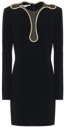 Stella McCartney Isabela cady minidress