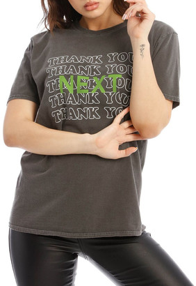Missguided Thank You Next Oversized Tee