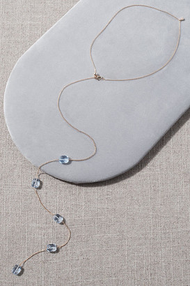 Serefina Gala Back Necklace By in Blue Size ALL