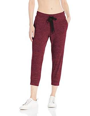 Amazon Essentials Brushed Tech Stretch Crop Jogger PantMedium