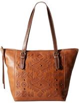 American West Mystic Shadow Bucket Tote Tote Handbags