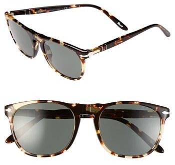 Persol 52mm Retro Keyhole Sunglasses