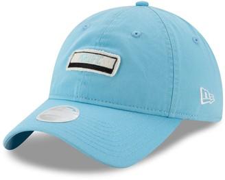 New Era Women's Light Blue Minnesota United FC Patch 9TWENTY Adjustable Hat
