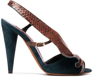 Missoni Snakeskin-Effect Sandals