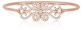 CARBON & HYDE Diamond Lace Freestyle Handmade Bangle