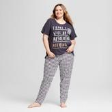 Nite Gear Women's Plus Size Pajamas T-Shirt/Leggings Set