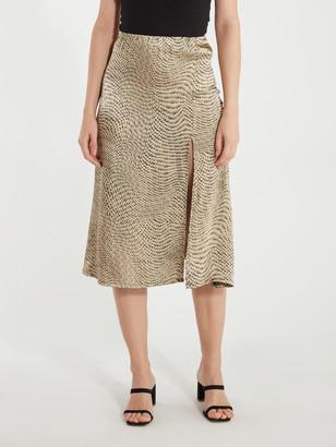 ELLEJAY Val Midi Skirt