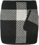 Barbara Bui fitted knitted short skirt - women - Viscose/Wool/Polyamide - 36